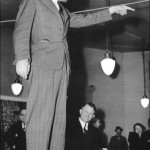 Harry P Cain campaigning 1940